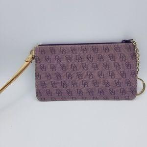 Authentic Dooney & Bourke Wallet Clutch Purse